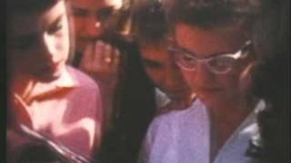 Typical high school footage:  Montebello High School 1959-1960 Part I of 2, via YouTube.