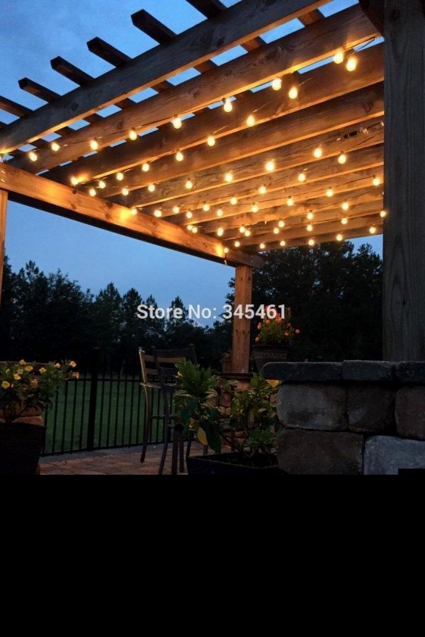 Awesome Diy Outdoor Lighting Plans To Build To Complement Your