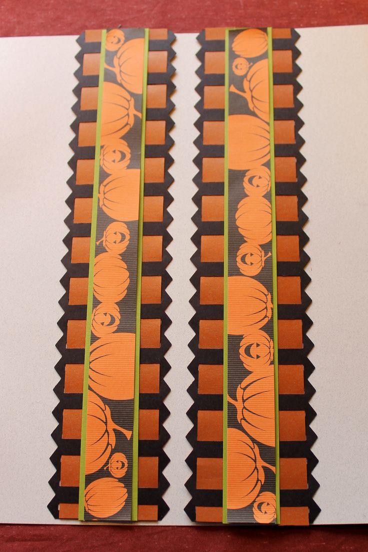 https://creativememories.com/user/chantalbruder     Halloween ribbon, Frightful Halloween embellishments, Orange shimmer/black matte paper, and candy apple green  all from CM