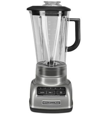 KitchenAid® 5-Speed Diamond Blender, Contour Silver