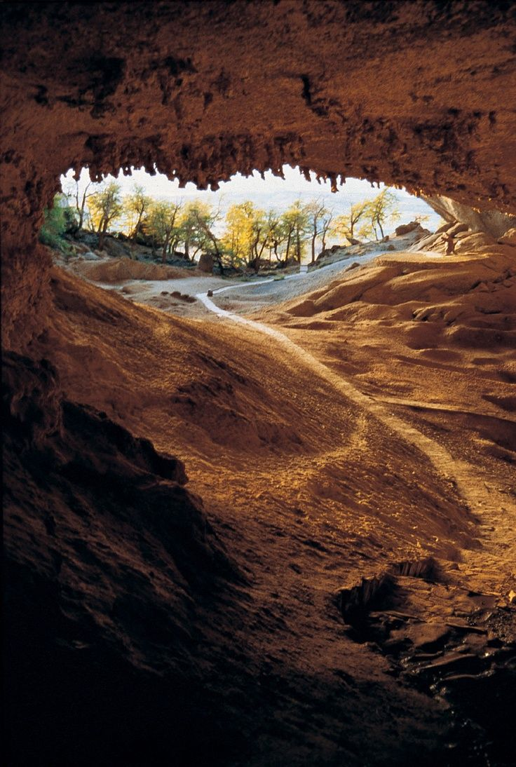 cueva de milodon, chile