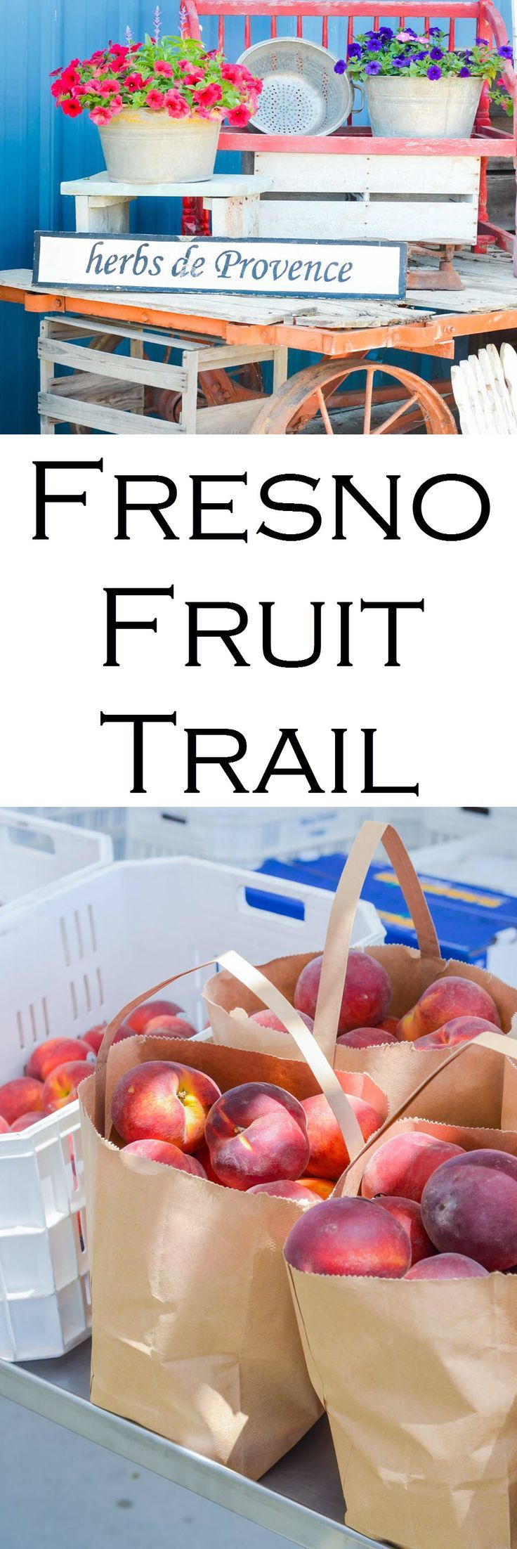 A guide to the Fresno Fruit Trail | Stop at farms and roadside stands for the freshest berries, stone fruits, and more.  Here's what to do in California Central Valley on Highway 99 | Luci's Morsels :: LA, California Travel Blogger