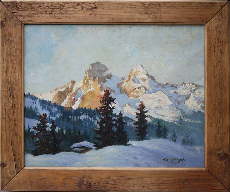 Alps paintings