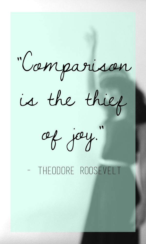 Amen ! The quickest way to be unhappy is comparing yourself to others. Love yourself be content