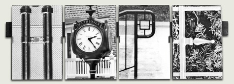 Natural Alphabet Photography - Photos of natural objects that look like letters framed together to create words, names or phrases