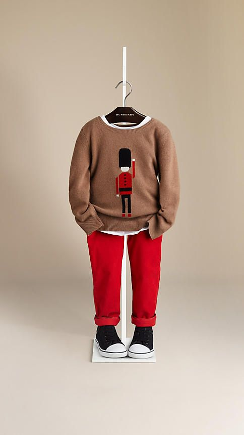 Soldier Cashmere Sweater | Burberry