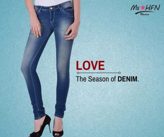 Celebrate your #Love for Denim with Ms*HFN. #SHOP for the most fashionable Women #Denim only here: http://bit.ly/2ewjJUJ Also check out our Women's Collection here: http://bit.ly/2f9yi4M