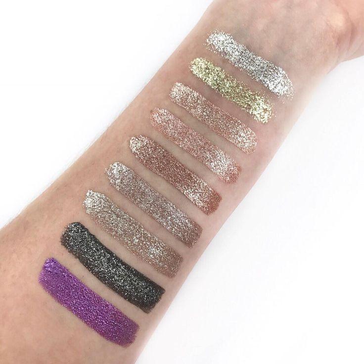 Stila Magnificent Metals Glitter & Glow Liquid Eye Shadow + Swatches