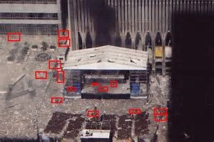 Image result for 9 11 Bodies On Pavement