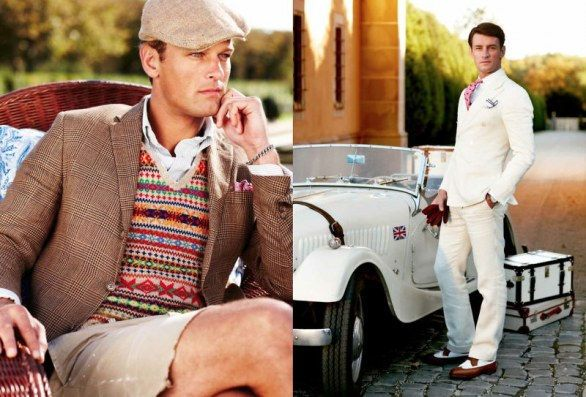Trends in Men's Fashion for Spring-Summer 2013: the 20s. Coinciding with The Great Gatsby movie?