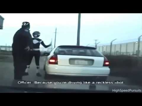 Police Pull Over Superhero Then Shootout | RAW VIDEO