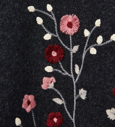 Image 5 of Embroidered knit dress from Zara