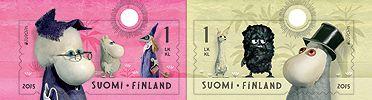 2015年5月発行!かわいい!ムーミン★フィンランド発行2種完 - 切手の通信販売 StampRoad(スタンプロード) / 趣味の切手