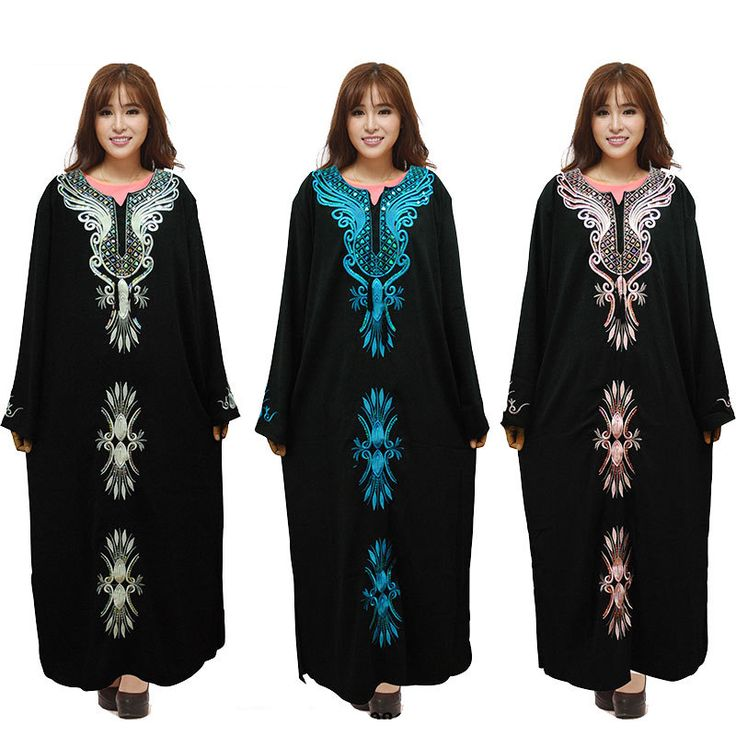 Abaya Kaftan Robe * AliExpress Affiliate's Pin.  Locate the AliExpress offer simply by clicking the VISIT button
