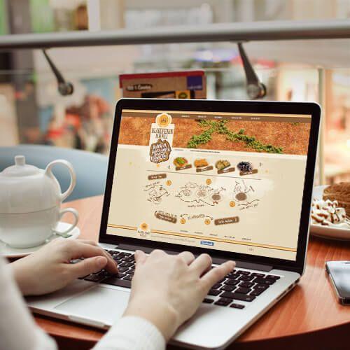 Künefenin Kralı - Website Tasarımı - Website Design - Restaurant Web Templates