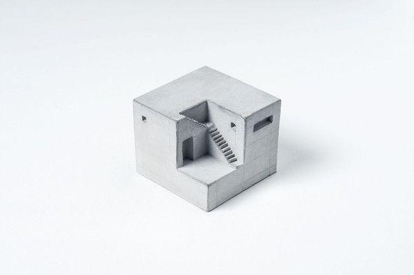 Miniature Concrete Home #9  Price : €31 Euro