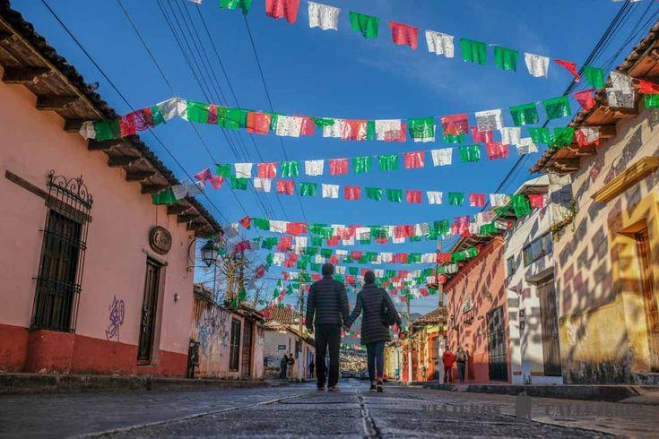 Hoy empezamos una nueva etapa del viaje a México en la que toca ir a Palenque en Chiapas desde San Cristóbal de las Casas en Chiapas.