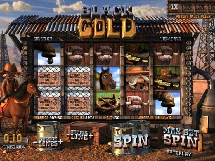 Lasst uns drehen online kostenlos Automat Black Gold - http://freeslots77.com/de/black-gold/