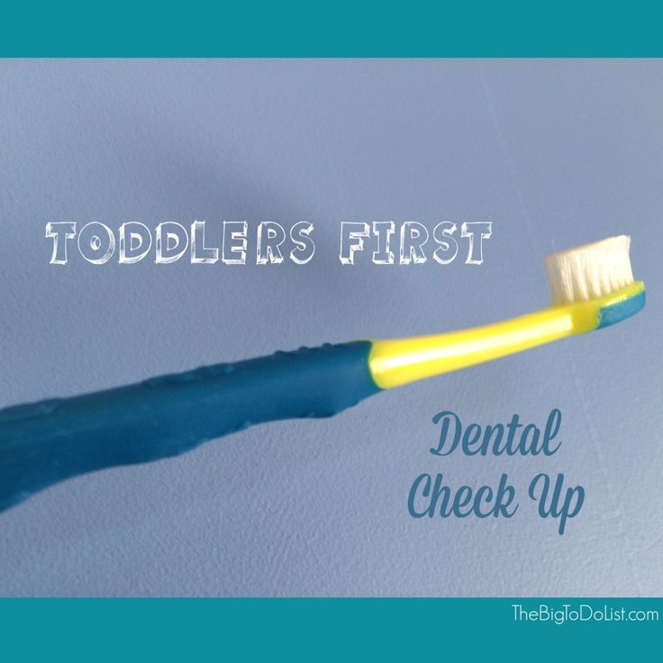 Toddler's First Dental Check Up - The Big To-Do List