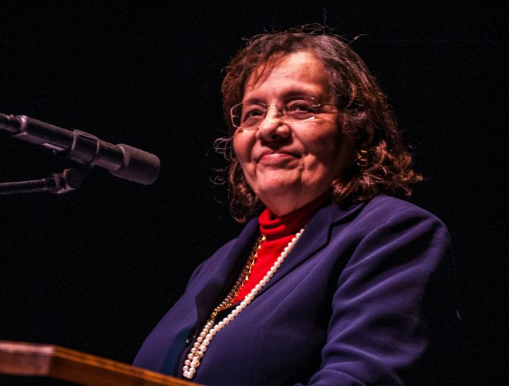 Diane Nash speaks at Modesto JC on February 4, 2014.