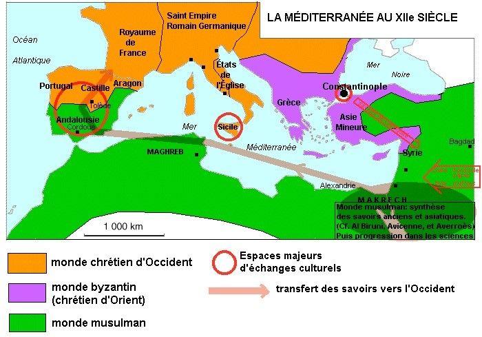 Les Croisades Ont Echoue Les Seigneurs Et Les Rois Chretiens Ont Depense Des Fortunes Dans Le But De Faire La Conquete De Jerusalem Apres Huit Croisades L Map