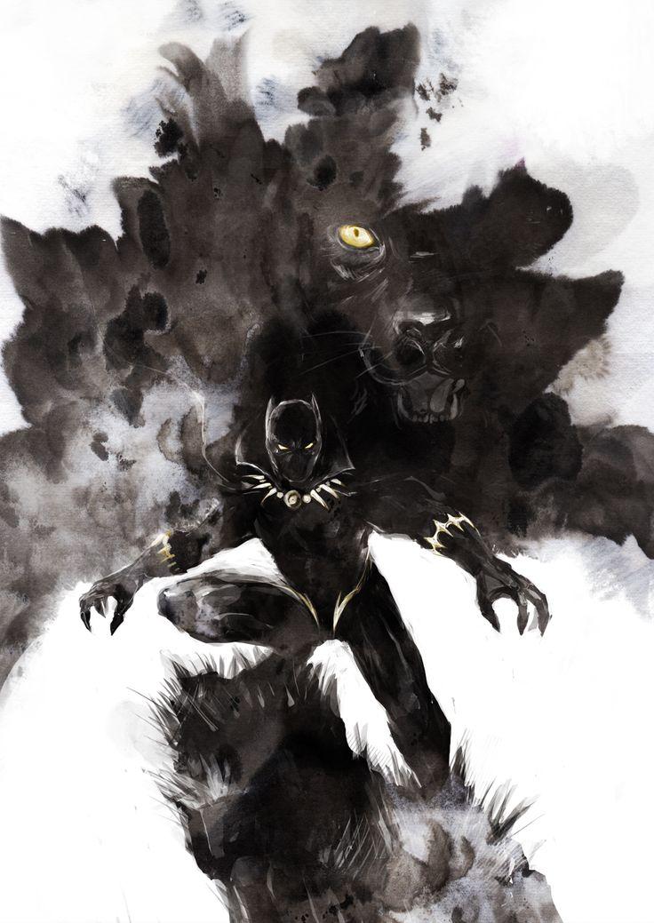 Black Panther by naratani.deviantart.com on @DeviantArt