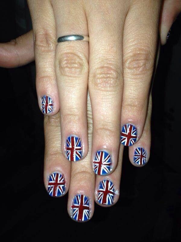 #nails #manicure #bandera