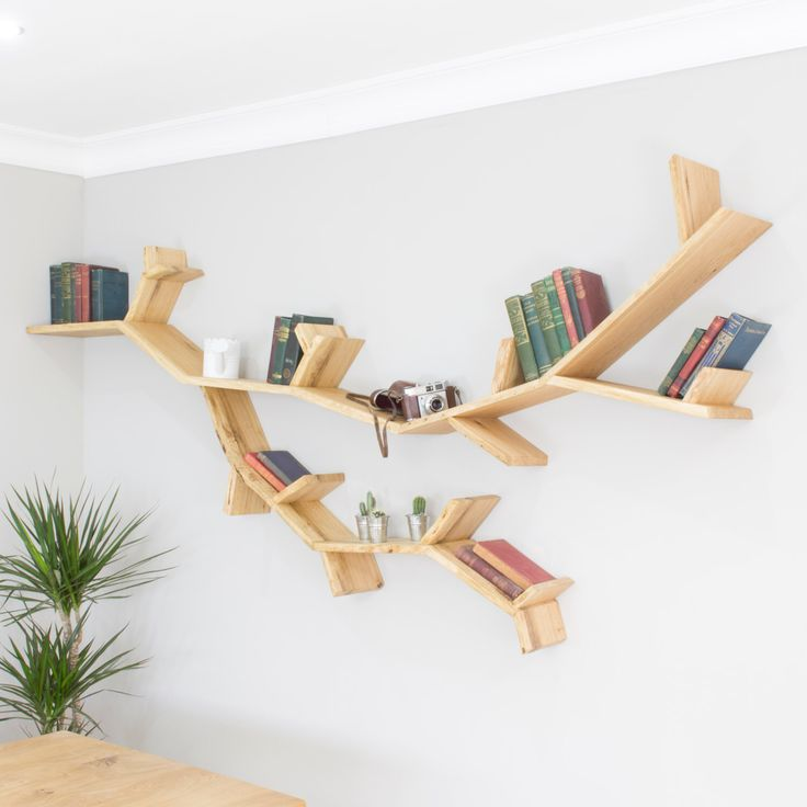 The Willow Tree Branch Shelf 2.3m wide by 1.2m high - Made to Order by BespOakInteriors on Etsy https://www.etsy.com/listing/229337662/the-willow-tree-branch-shelf-23m-wide-by