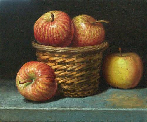 Fruit-painting
