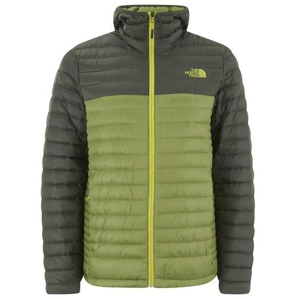 The North Face Men's Tonnerro Down Filled Hooded Jacket - Grip Green ($150) ❤ liked on Polyvore featuring men's fashion, men's clothing, men's outerwear, men's jackets, green, mens down filled jackets, mens down jacket, mens faux fur hooded jacket, mens hooded jackets and mens insulated jacket