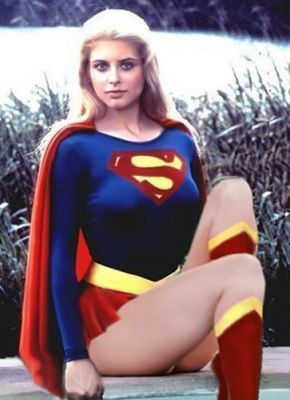 The movie might have sucked, but Helen Slater was hot as Supergirl