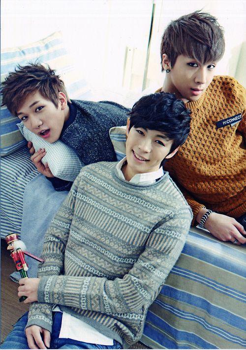 "VIXX Members HONGBIN RAVI HYUK~!! #streetstyle  Be sure to catch  ""Moorim School"" starring Hongbin, now on Drama Fever."