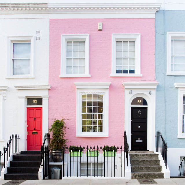 Notting Hill, London Without a doubt my favourite neighbourhood in London…