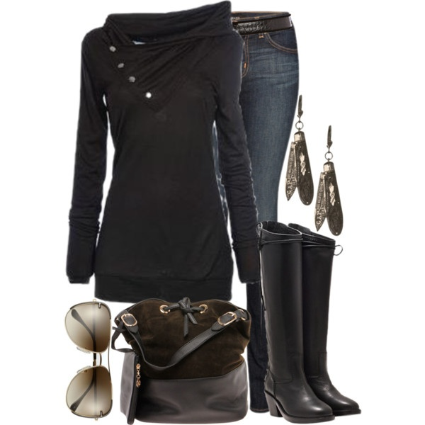 """Midnight Ride"" by lagu on Polyvore - want this shirt"