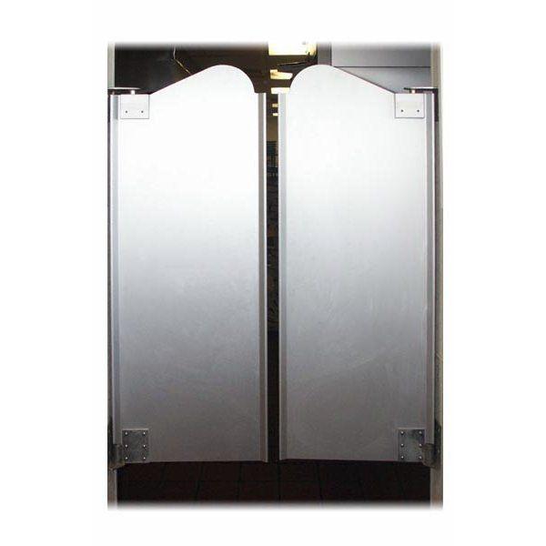 puerta doble de vaiv n de media altura o puerta de saloon