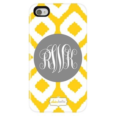 Clairebella Personalized Cell Phone Case Ikat from @LaylaGrayce #laylagrayce #ikat
