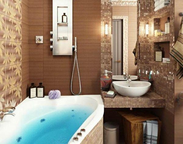 30 Design Ideen für kleine Badezimmer -    wohnideennde - ideen für kleine badezimmer