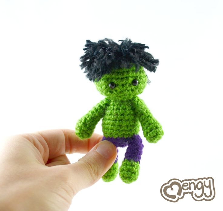 A Hulk of Cuteness by mengymenagerie.deviantart.com on @deviantART