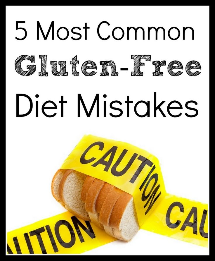 The 5 Most Common Gluten-Free Diet Mistakes | Health, The ...