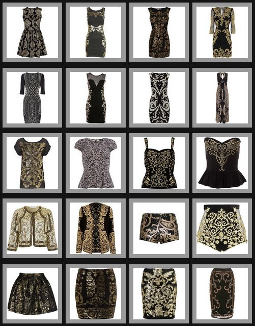 Crafty Lady Abby: FASHION TRENDS: Baroque Clothing