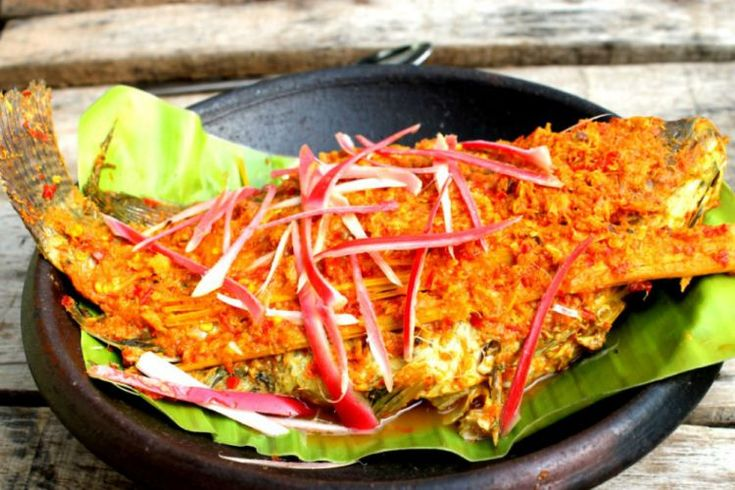Ikan Arsik Bumbu Kuning Khas Sumatera Utara
