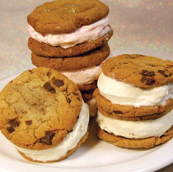 I LOVE ice cream cookie sandwiches. I love them.