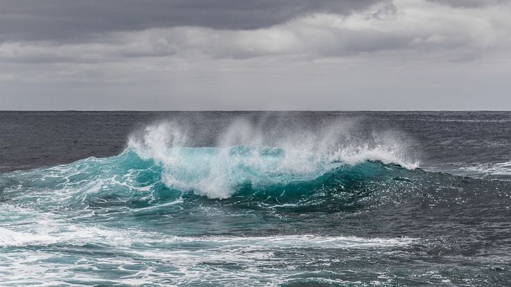 Voda, Moře, La Palma, Atlantik, Oceán, Vlna