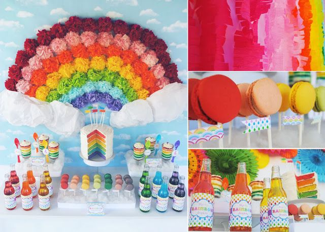 Rainbow Party: A Colorful Spectrum Of Inspiration - Design Dazzle