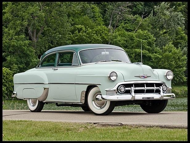 1954 chevrolet series 210 two door sedan chevrolet 1953 for 1954 chevy 210 2 door