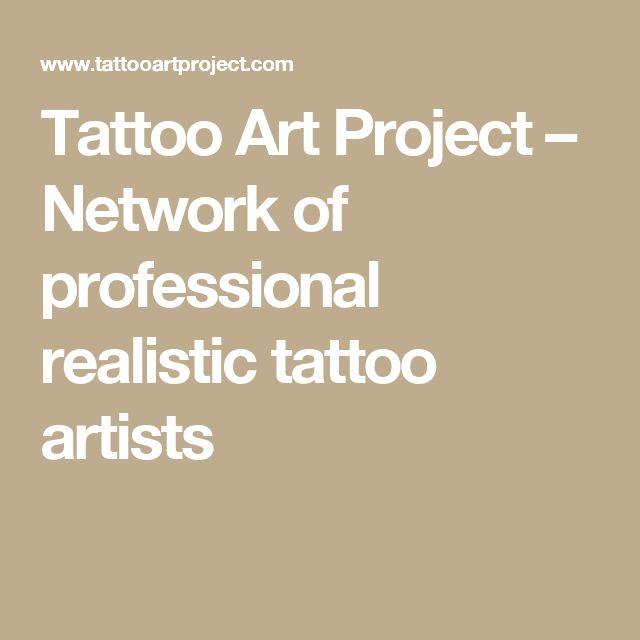 Tattoo Art Project – Network of professional realistic tattoo artists