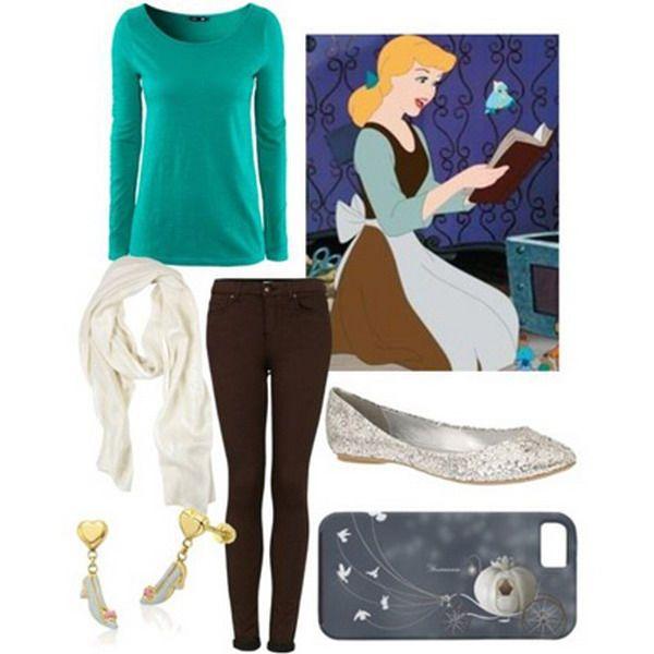 ;Look inspirado en la princesa de disney la cenicienta