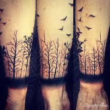 Znalezione obrazy dla zapytania tatuaże drzewo