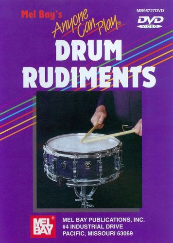 Anyone Can Play Drum Rudiments [DVD] [English] [2005]