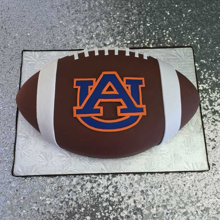 Auburn university Football grooms cake made by Kakes By Kena